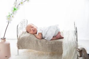 ako má spať bábätko